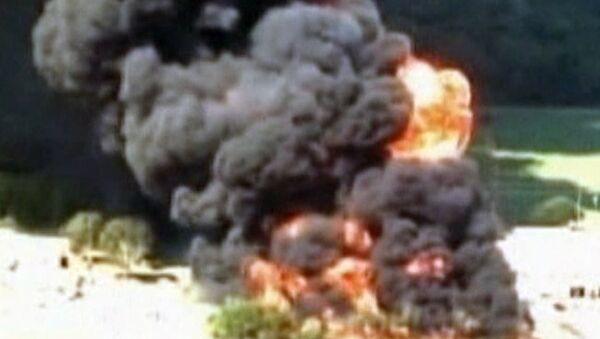 Houston chemical fire causes mile-wide evacuation  - Sputnik International