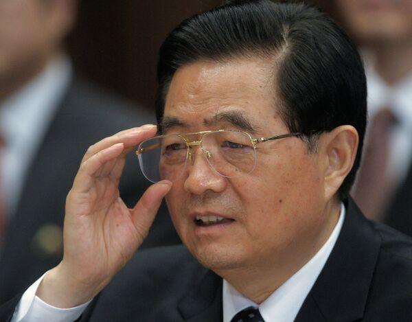 Chinese President Hu Jintao - Sputnik International