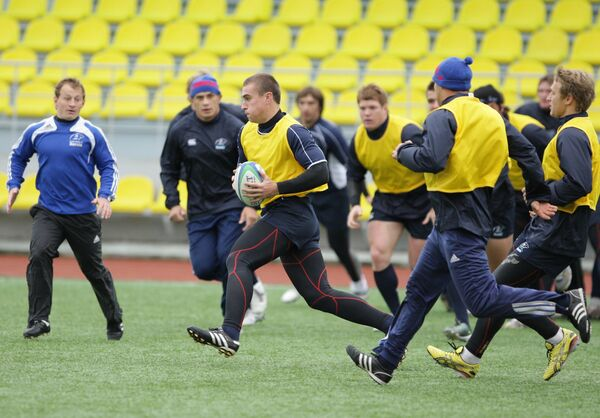 Russia's rugby team - Sputnik International