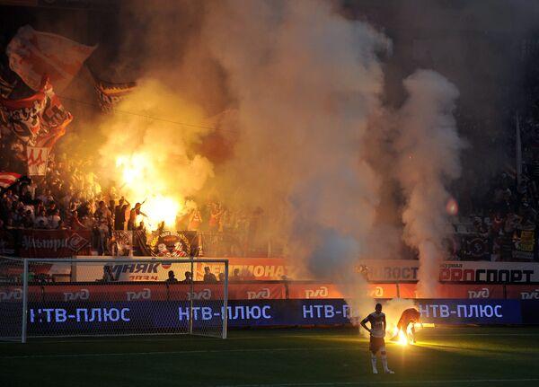 Football fans - Sputnik International