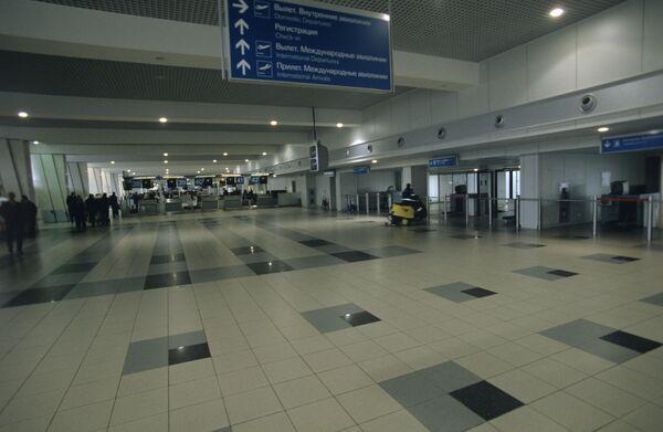 Moscow Domodedovo Airport  - Sputnik International