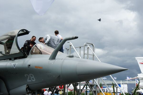 First day of the International Paris Air Show at Le Bourget - Sputnik International