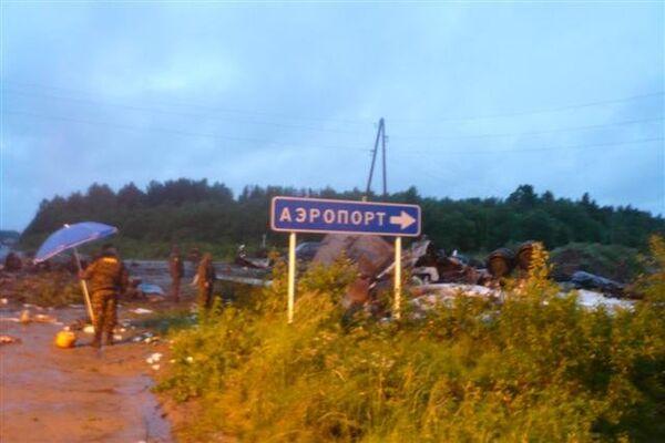 Tu-134 crash in Karelia - Sputnik International