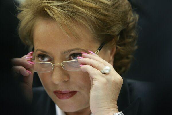 St. Petersburg Governor Valentina Matviyenko  - Sputnik International