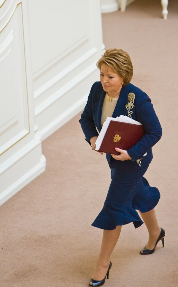 The head of Russia's northern capital - Valentina Matvienko - Sputnik International