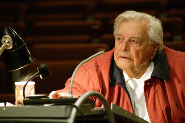The founder of Moscow's famed Taganka Theatre Yuri Lyubimov - Sputnik International