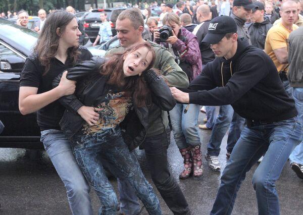 Some 380 people were arrested in Belarus during Sunday's rallies - Sputnik International