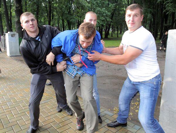 Revolution Through Social Networks protesters arrested in Minsk - Sputnik International