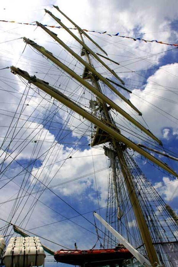 Russian sailboat Pallada  - Sputnik International