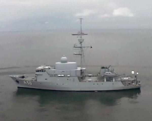 New Russian warship unveiled - Sputnik International