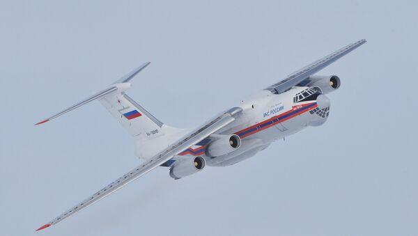 Russian Ministry of Emergency Situations Il-76 plane - Sputnik International