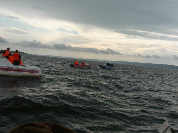 84 people rescued from sunken cruiser ship on Volga - Sputnik International