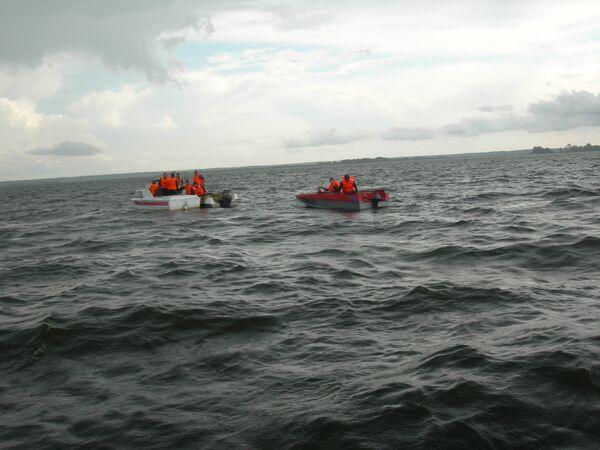 Cruise ship carrying over 170 people sank on the Volga River - Sputnik International