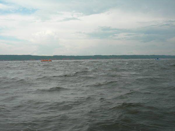 Cruiser ship sank on the Volga River - Sputnik International