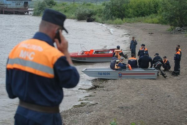 The two-decked Bulgaria sank near the village of Syukeyevo in t the Republic of Tatarstan - Sputnik International