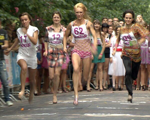 High heeled runners have fun - Sputnik International