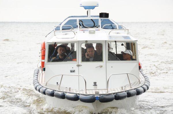 Russian cruise ship sank in the Volga River on Sunday - Sputnik International