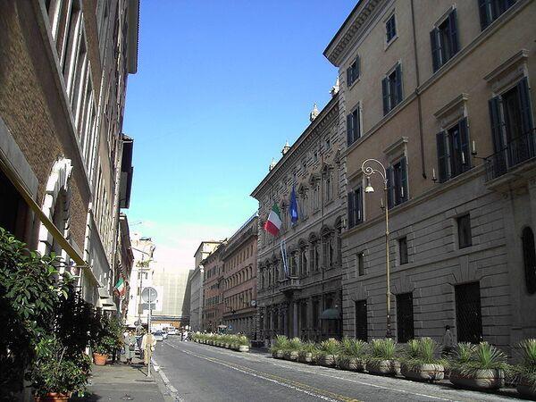 Italian senate approves austerity budget - Sputnik International