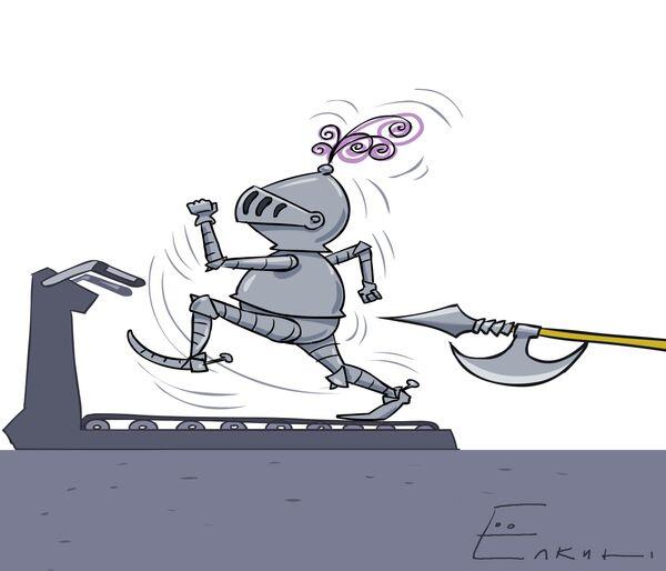 Knights on a treadmill - Sputnik International