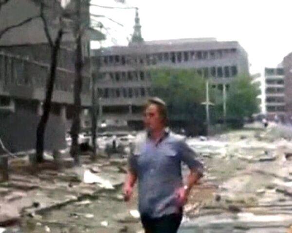 Powerful blast hits Oslo - Sputnik International