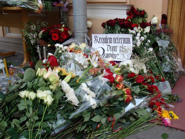 Russians mourn Norway massacre victims  - Sputnik International