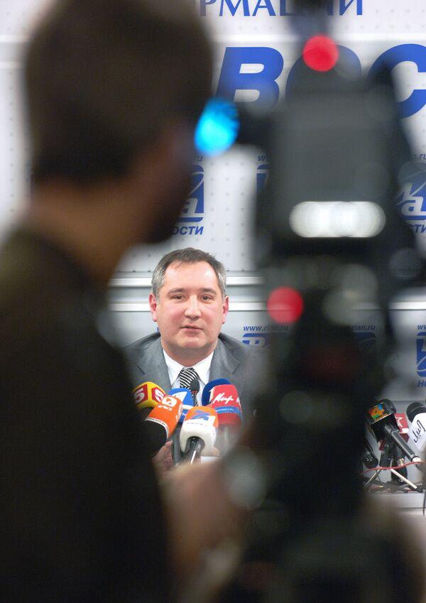 Dmitry Rogozin - Sputnik International