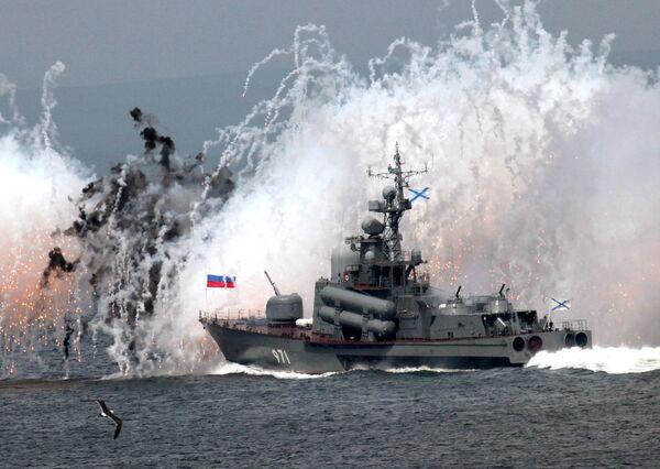 From Vladivostok to Baltiisk: Russian Navy Day - Sputnik International