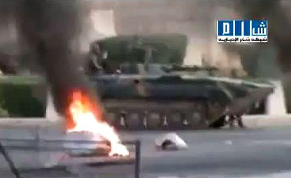 Syrian tanks attack civilians ahead of UN vote - Sputnik International
