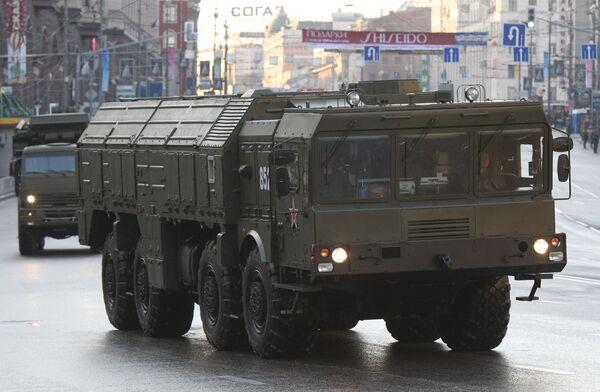 Anti air missile complex Iskander - Sputnik International