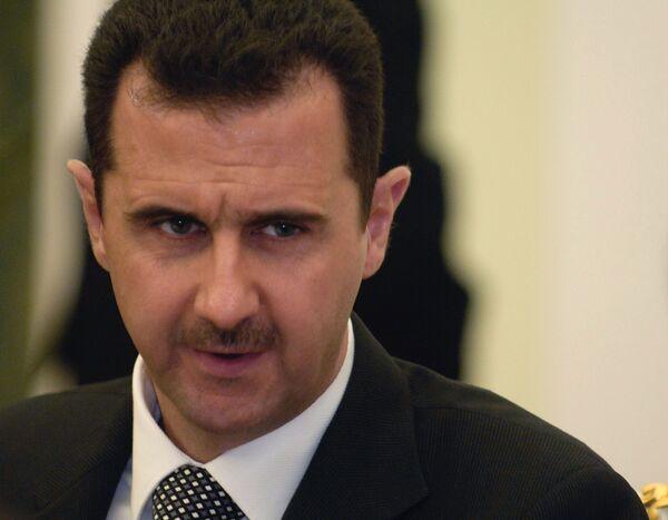 Syrian President Bashar al-Assad - Sputnik International