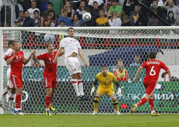 Russia beats Serbia 1-0 in warm-up for Euro-2012 qualifiers - Sputnik International