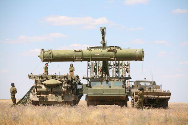 Air defense exercise at the Kapustin Yar range - Sputnik International