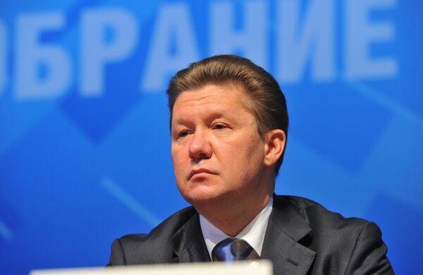 Head of Russia's Gazprom Alexei Miller - Sputnik International