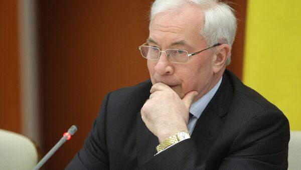 Mykola Azarov - Sputnik International