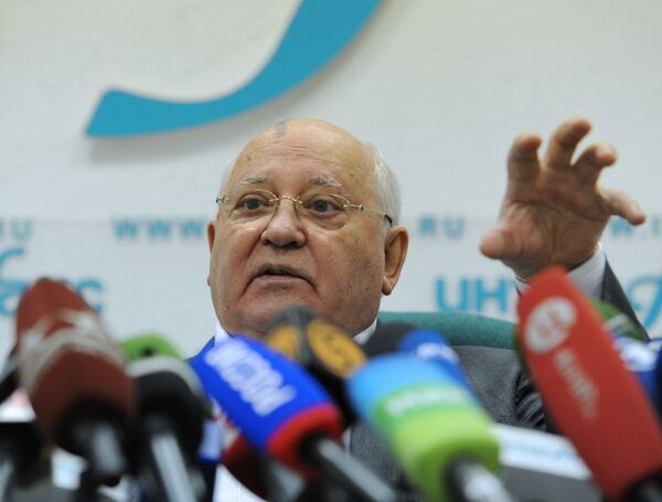 Former Soviet President Mikhail Gorbachev - Sputnik International