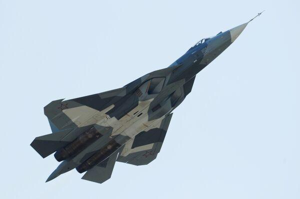 Russia's Sukhoi T-50 5th generation fighter - Sputnik International
