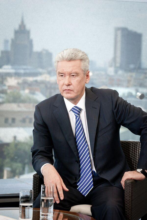 Moscow Mayor Sergei Sobyanin - Sputnik International