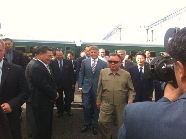 Kim Jong-il's train is currently travelling across Russia - Sputnik International