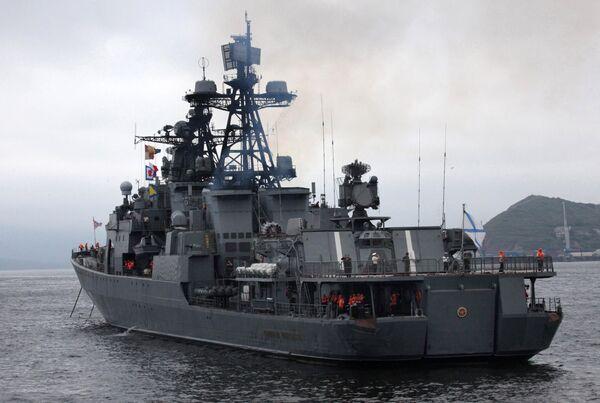 Admiral Panteleyev - Sputnik International