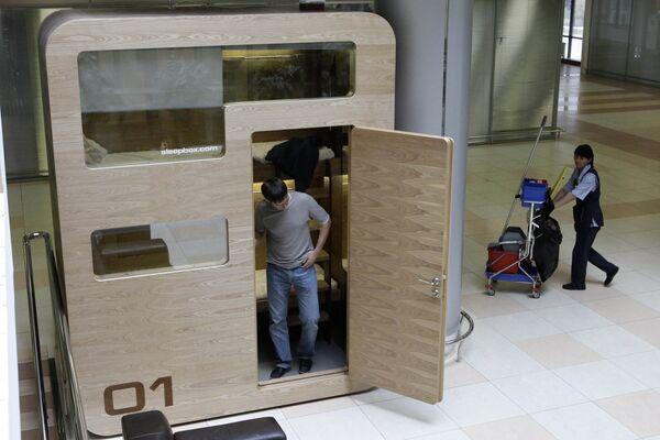 Sleepbox installed at Sheremetyevo Airport - Sputnik International