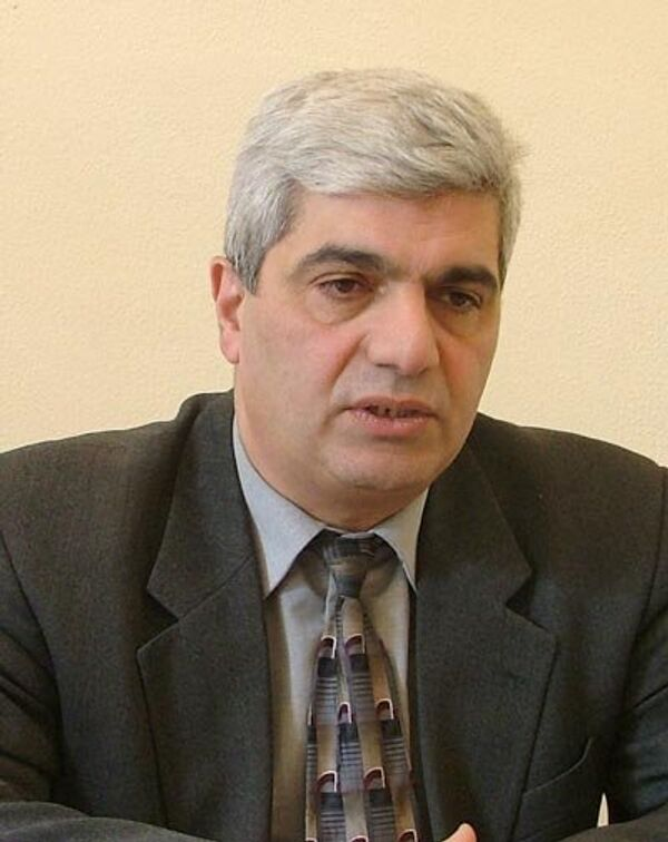 Stepan Grigoryan, the head of the Analytical Centre on Globalisation and Regional Cooperation - Sputnik International