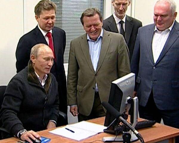 Putin launches Nord Stream pipeline - Sputnik International