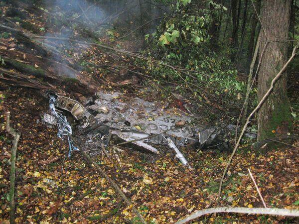MiG-31 Foxhound fighter crash site in the Urals - Sputnik International