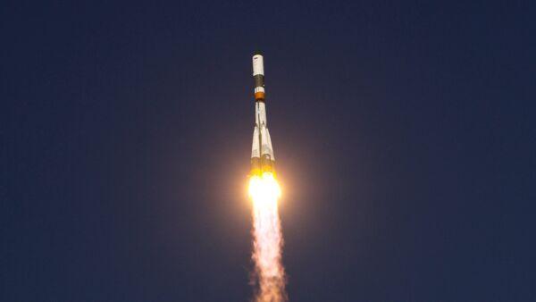Soyuz-U rocket blasts off toward Space Station (File photo) - Sputnik International