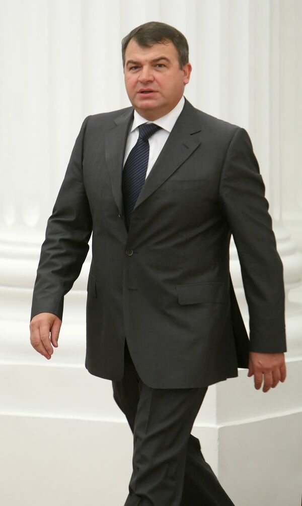 Anatoly Serdyukov - Sputnik International