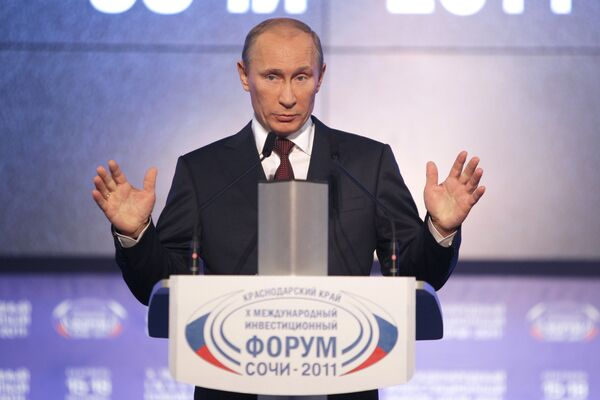 Russian Prime Minister Vladimir Putin said on Friday that new people are required in the government, social sector and economy. - Sputnik International
