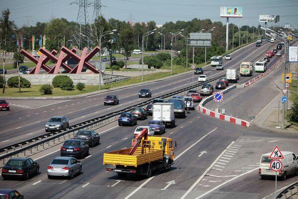 Moscow - St. Petersburg highway - Sputnik International