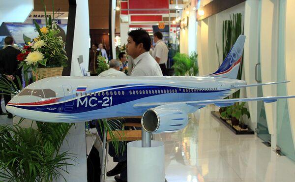 MS-21 medium-range aircraft - Sputnik International