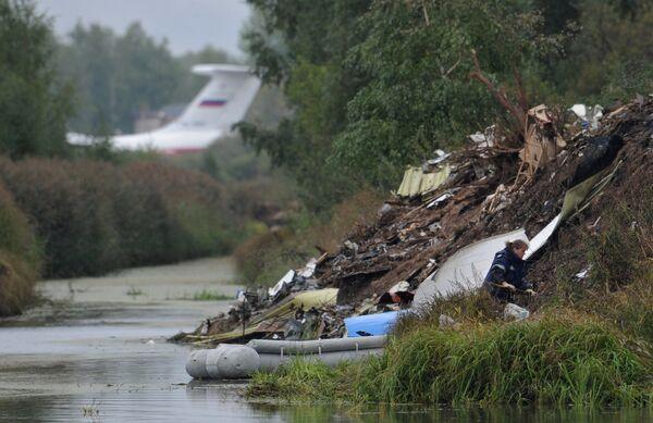 Crashed plane in Yaroslavl gained max. altitude of 6 meters -MAK - Sputnik International