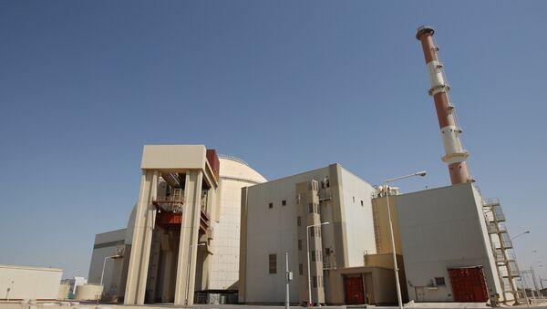 The Bushehr nuclear power plant in Iran. - Sputnik International
